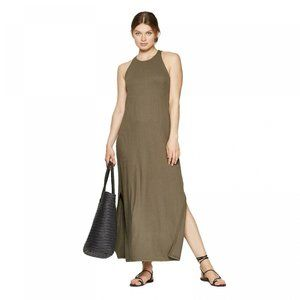 NWT A New Day Knit Rib Maxi Dress XXL Olive